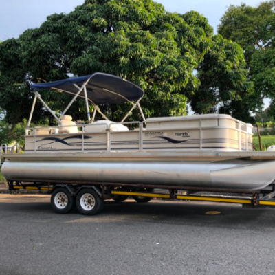 2005 Harris 220 Pontoon