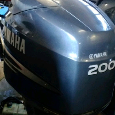 200Hp Outboard Yamaha Engine