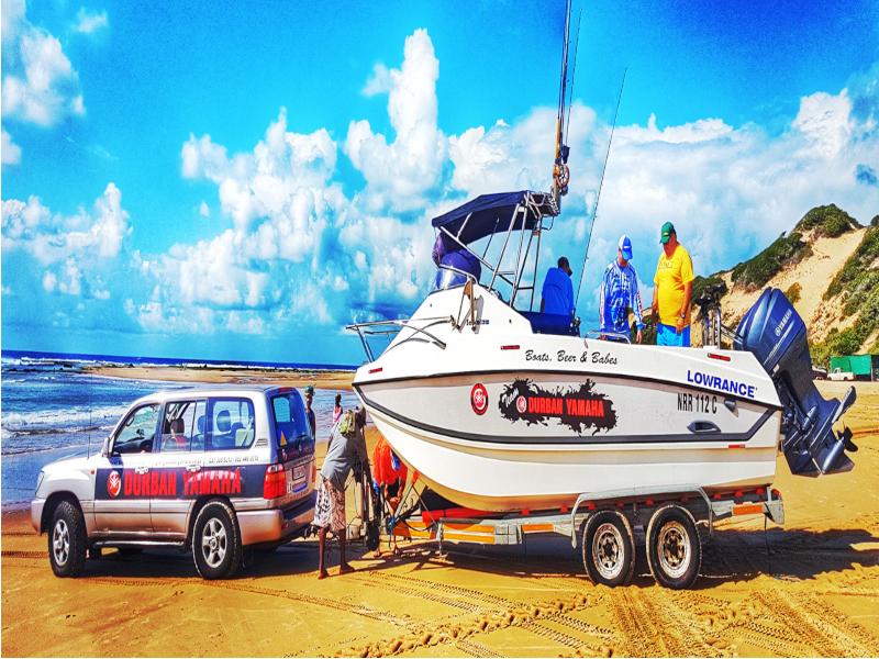 durban-yamaha-boat-car-beach